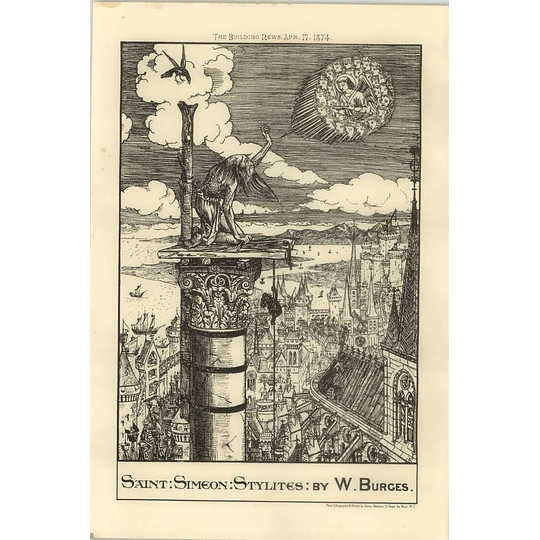 1874 St Simeon Stylights By W Burges