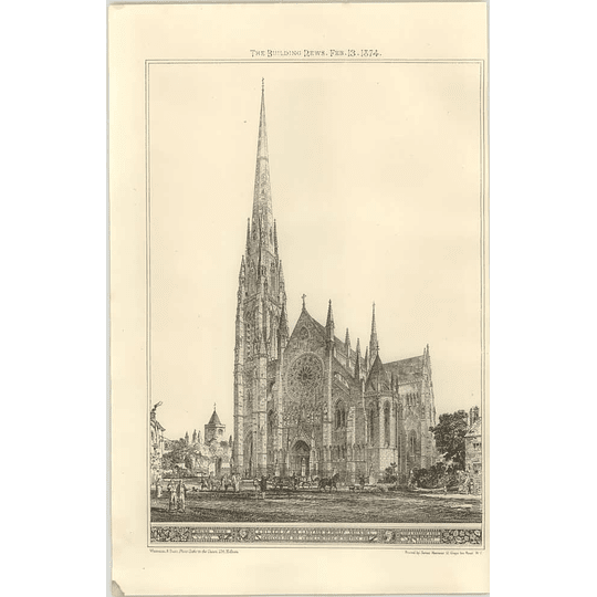 1874 Church Of Our Lady And St Philip, Arundel Exterior View