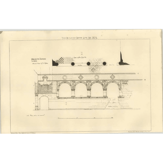 1874 Manoir D'ango, Loggia