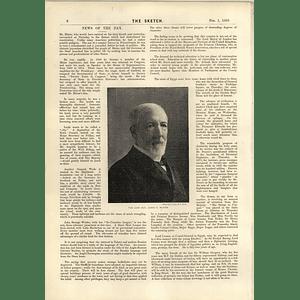 1893 James G Blaine American Politician