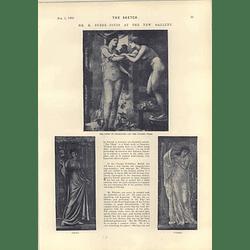 1893 Mr E Burne-jones At The New Gallery Ii