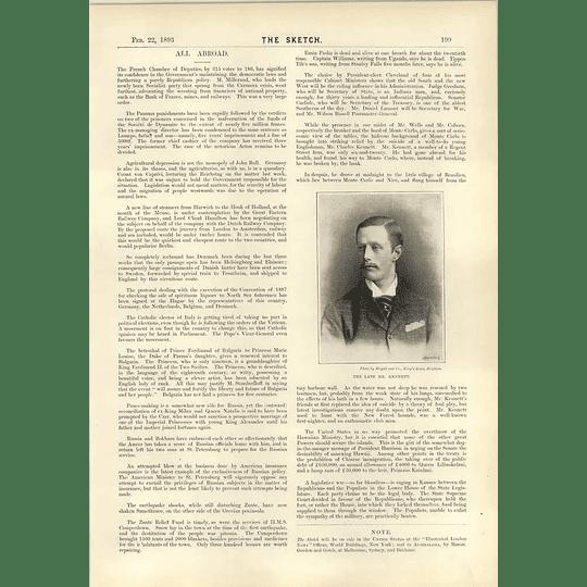1893 Mr Charles Kennett Tragedy New Forest Hounds Emigration Australia