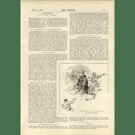 1893 Registration Mr Fowler Sir George Trevelyan John Burk Reddick