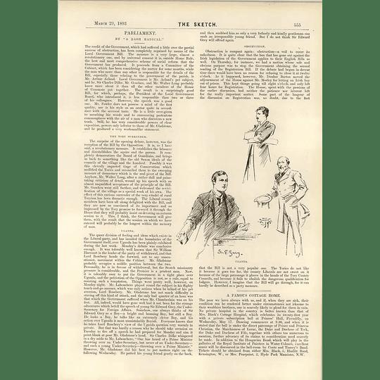 1893 Sir Edward Grey Foreign Affairs Uganda The Race For The North Pole