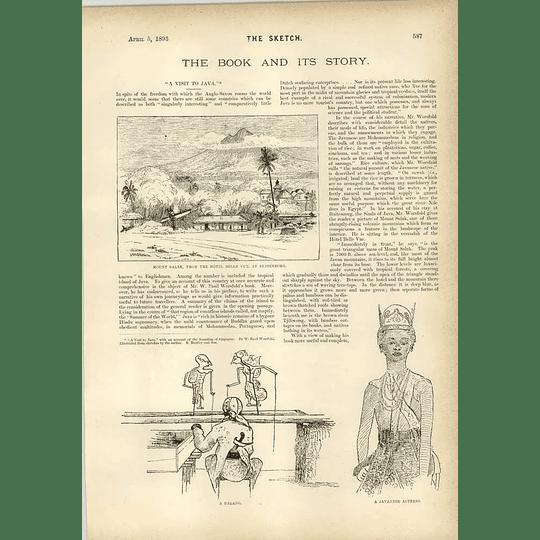 1893 The Beard Of Columbus A Visit To Java Worsfold
