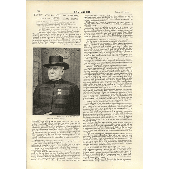1893 A Chat With The Rev Arthur Robins Soldiers Bishop