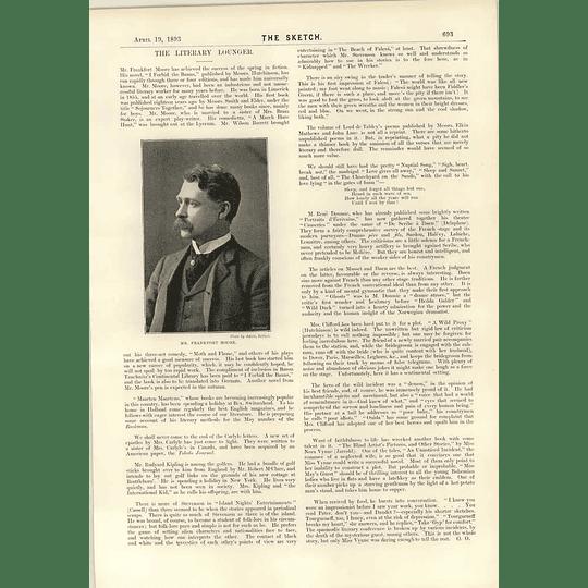 1893 Mr Frankfort Moore Herne Hill Track Complete