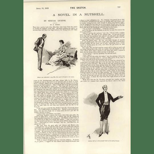 1893 Short Story Special Licence E Nesbit Erskine Houyhnhnm