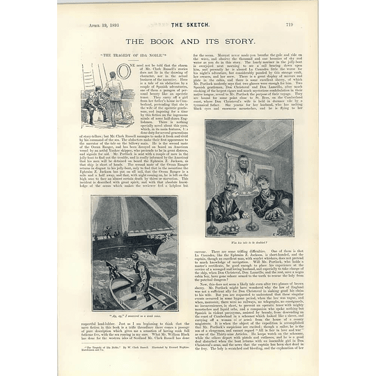 1893 Tragedy Of Ida Noble Tiptop Game Street Urchins