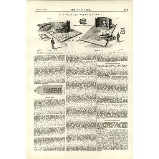 1891 The Graydon Dynamite Shell Projector