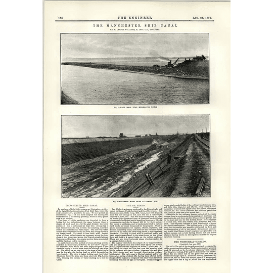 1891 Bridgwater Docks Ellesmere Port Mattrass Works Ss Minho