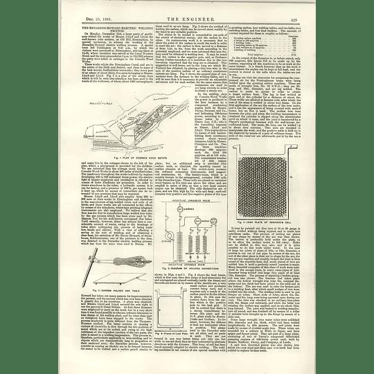1891 Typical Screw Propellers Benardos Howard Electric Welding Process