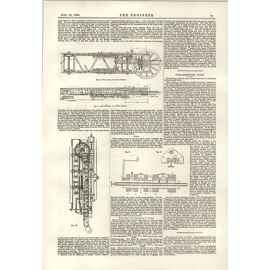 1889 Otis Lifts Eiffel Tower Continued