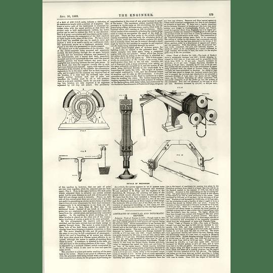 1889 10 Ton Travelling Crane Echeverria Bazan Clutch Mechanism 2