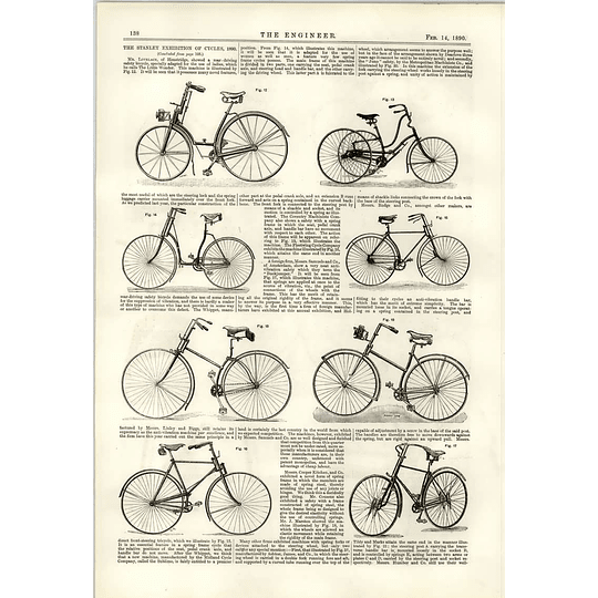 1890 Cycle Innovations Safety Bicycles Little Wonder Linley Biggs