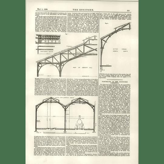 1890 Edinburgh Exhibition Electricity Underground Railway Bill