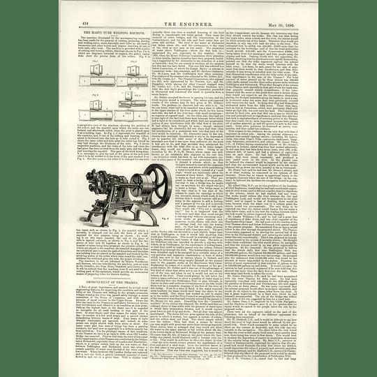 1890 The Hartz Tube Welding Machine