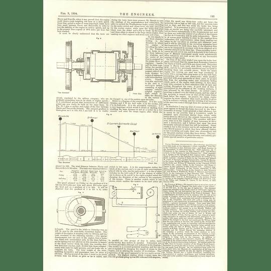 1894 Canet Electric Turret Gun Mountings Heilmann Tests