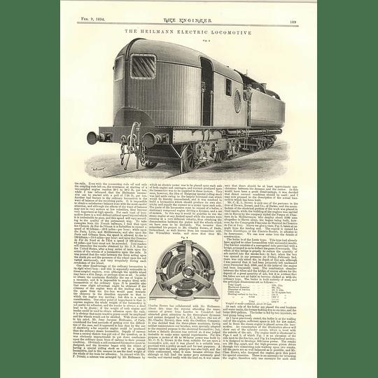 1894 The Heilmann Electric Locomotive 2