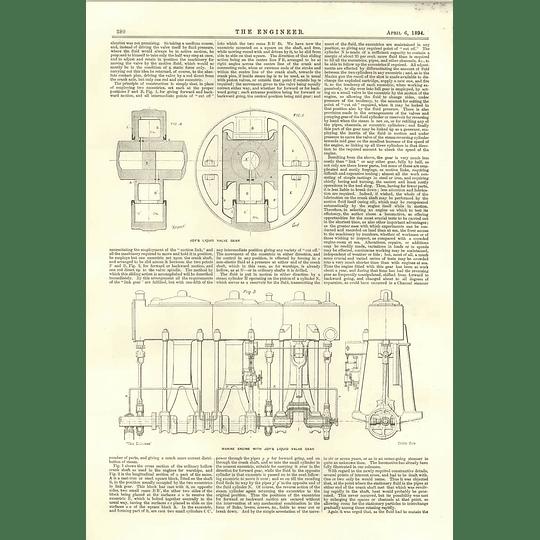 1894 David Joy Liquid Valve Gear