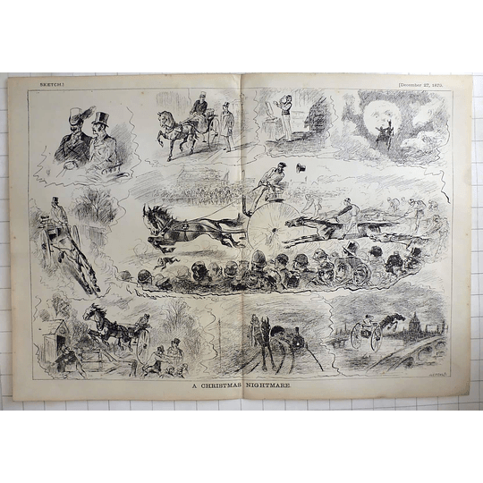 1879 Christmas Nightmare, Horse And Carriage