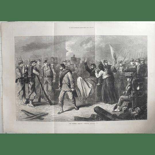 1871 Civil War, Paris, Communist Prisoners