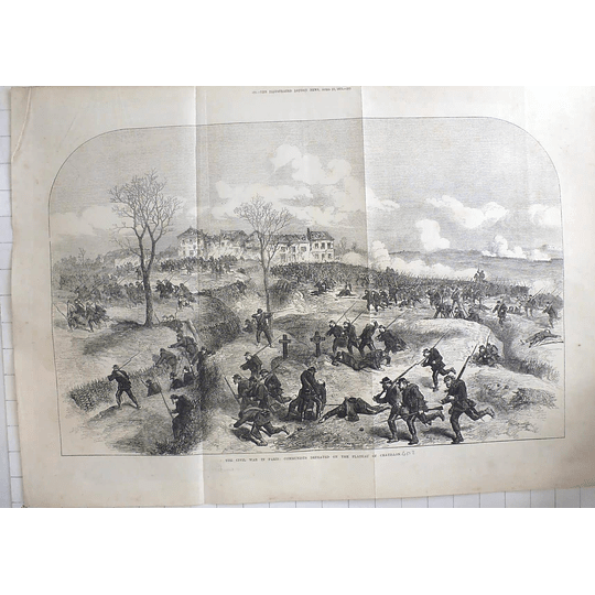 1871 Communists Defeated On Plateau Of Chatillon, French Civil War