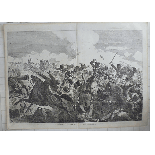 1854 Charge Of Light Cavalry At Balaclava