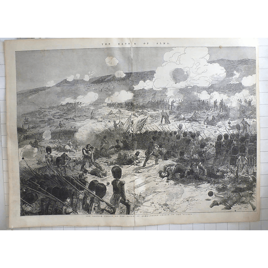 1854 British Troops On The Heights Of Alma, Grand Charge Of Guards