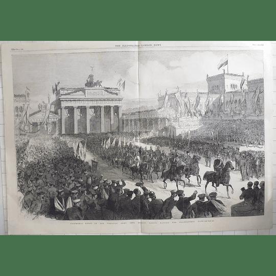 1866 Triumphal Entry Of Prussian Army Into Berlin, Brandenburg Gate