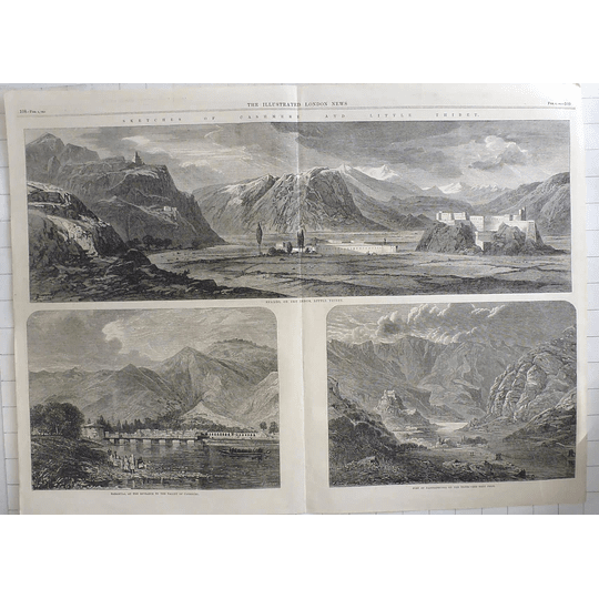 1865 Sketches Of Kashmir And Little Tibet, Baramula