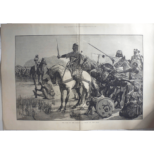 1883 War In The Sudan, Parley On The Road, Prisoner Exchange