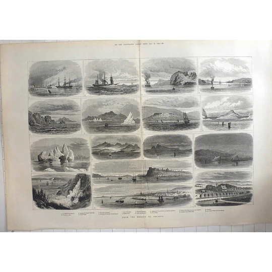 1883 Sketches From The River Mersey To Ontario, Woodstock