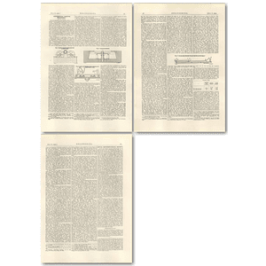 1927 Centrifugal Casting Processes, John Capron, New York