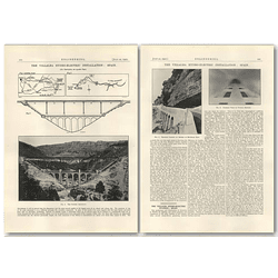 1927 The Villalba Hydro-electric Station, Spain