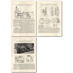 1927 480 Kw Super Pressure Steam Turbo Generator, Stockholm