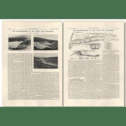 1927 The Reconstruction Of The Coety Dam, Dolgarrog