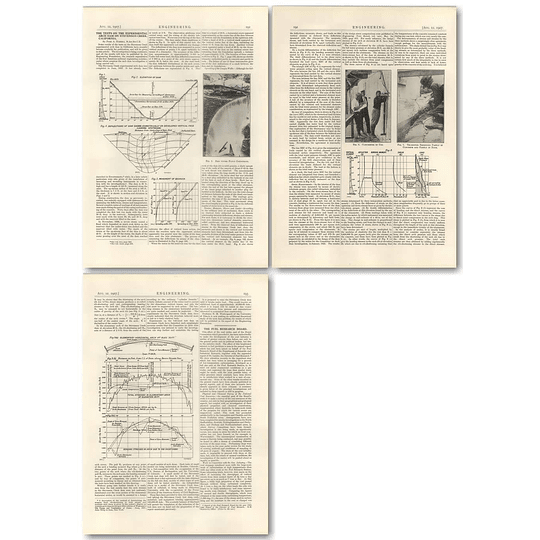 1927 Tests On The Experimental Arch Dam On Stevenson Creek California