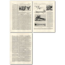 1927 Parwinac Oil-burning Apparatus, Col Thomas Yabbicom Obituary
