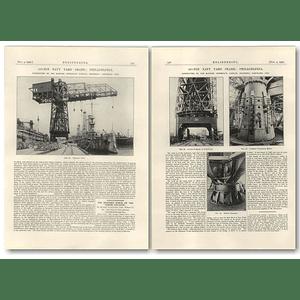 1927 Port Of Philadelphia, 35- Ton Navy Yard Crane
