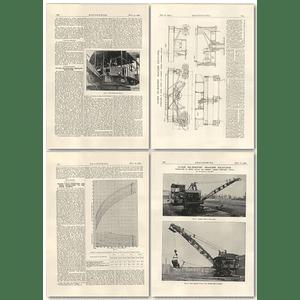 1927 175 Ton Oil-electric Dragline Excavator Part 1