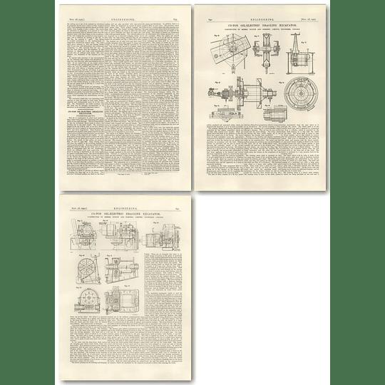 1927 175 Ton Oil-electric Dragline Excavator Part 2