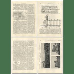 1927 The Port Of Baltimore Part 2 Locust Point Grain Elevator