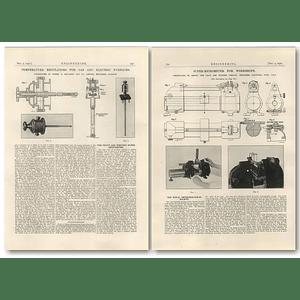 1927 The Pratt And Whitney Super-micrometer