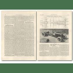 1927 The Austro-daimler Tubular Frame Motor-car Chassis