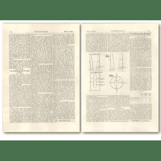 1927 The History Of The Foundry Cupola, J E Hurst