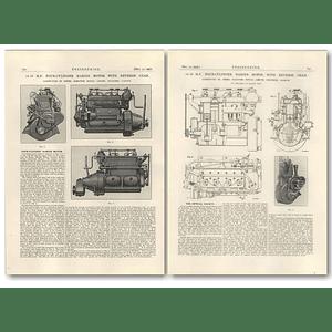 1927 4 Cylinder Marine Motor With Reverse Gear, Glennifer, Glasgow