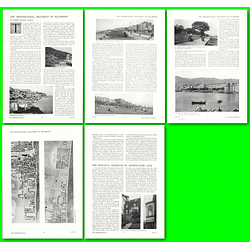 1912 The Architectural Treatment Of Seafronts, Scarborough, Ventnor, Brighton,