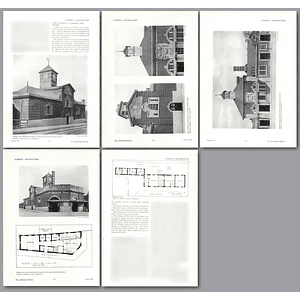 1912 New Railway Stations At Harrow And Pinner