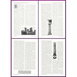 1912 The Origin Of Structural Forms, By L March Phillipps